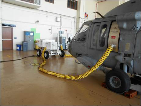 Flightline and Hanger Dehumidification Options for Helicopters