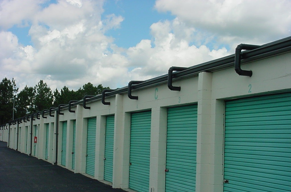Dehumidification of Outside Unit Self Storage