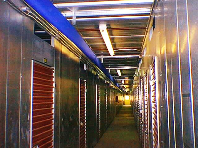 Dehumidification of Inside Storage Hallway