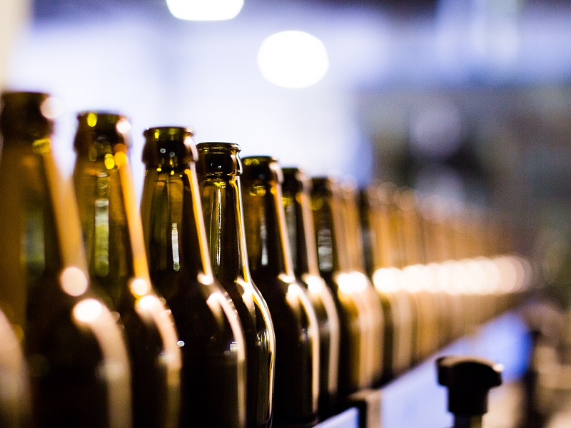 Protect ingredients and final product, reduce labeling errors due to wet bottles