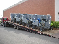 Flightline Mobile Dehumidifier Units Ready for Action