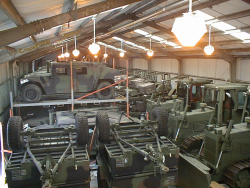 corrosion protected military vehicles